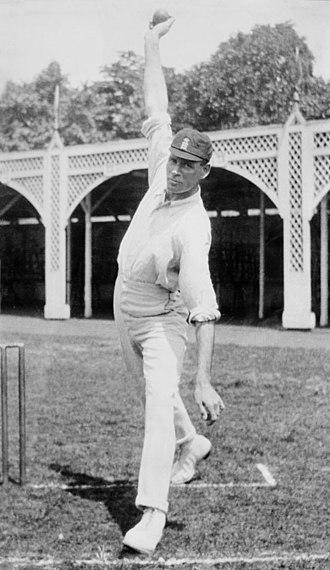 Sydney Barnes - Barnes in 1910