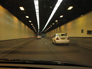 Freeways in Australia - Sydney Harbour Tunnel