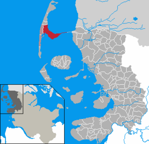 Sylt-Ost - Image: Sylt Ost in NF