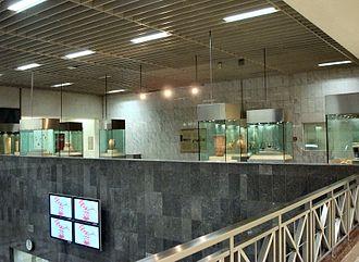 Syntagma metro station - The museum of Syntagma metro station