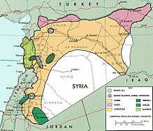 Syria Wikipedia - Where is syria located on the map