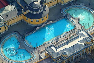 Széchenyi thermal bath - Image: Szecskacivertanlegi 3