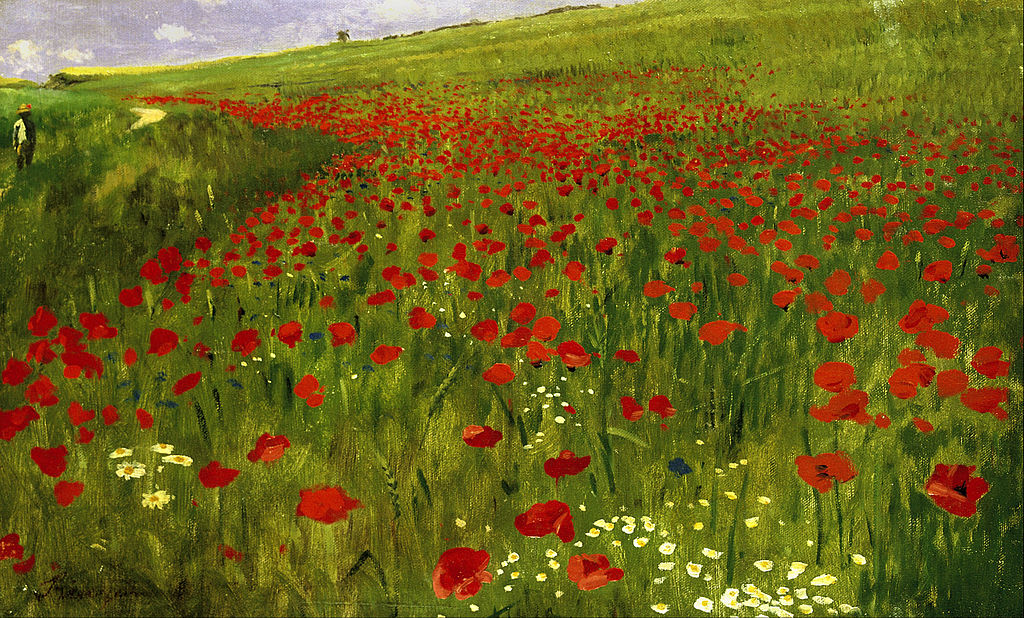 File Szinyei Merse P 225 L Meadow With Poppies Google Art
