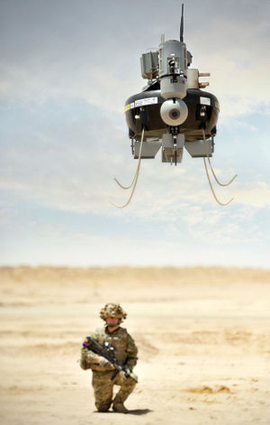 Honeywell RQ-16 T-Hawk - T-hawk of Britain's Talisman counter-IED force, 2012