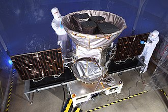 Transiting Exoplanet Survey Satellite - TESS spacecraft before launch