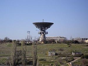 Soviet Deep Space Network - 32-metre diameter antenna.