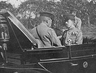 Emperor Taishō - Emperor Taishō on his way to the opening ceremony of the Imperial Diet in 1917, during World War I