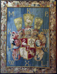 Tapestry with the Arms of Michał Kazimierz Pac, Jan Leyniers, Brussels, 1667–1669.