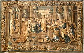 Tapisserie d 39 aubusson wikip dia for Comment enlever de la tapisserie