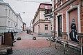 Tartu streets during COVID-19 pandemic, Rüütli st.jpg
