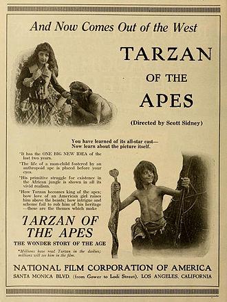Tarzan of the Apes (1918 film) - Advertisement (1918)