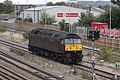 Taunton - WCR 47760 shunting into sidings.JPG