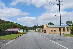 Taylorville, New Zealand - Taylorville Road