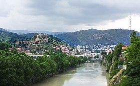 Tbilissi, Géorgie - Vue de Tbilissi.jpg