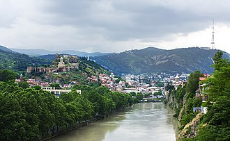 Tbilisi - Image: Tbilisi, Georgia — View of Tbilisi