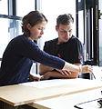 Teamarbeit in der Weiterbildung zum Gestalter im Handwerk.jpg