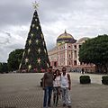Teatro Amazonas Natal em Manaus com amigos da Venezuela 23 de Dezembro 2015 - panoramio.jpg