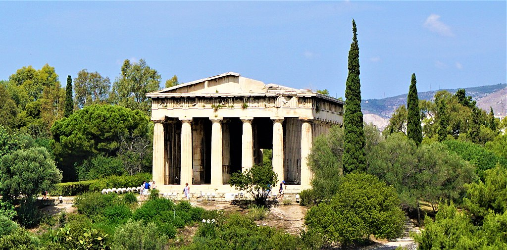 Temple of Hephaestus - Joy of Museum