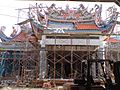 Temple on the construction Roof - panoramio.jpg