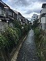 Tenjin River in Kyoto.jpg