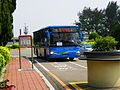 Terminal Shuttle Bus at Stop of Aviation Museum 20140330.jpg