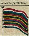 Terschelling en Vlieland vlag - Bowles's naval flags of the world, 1783.jpg