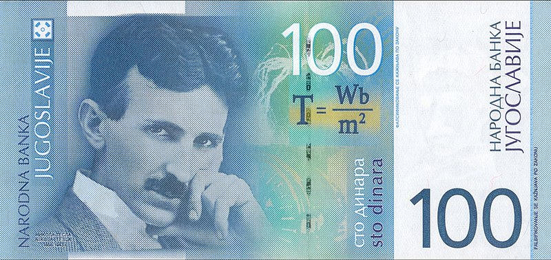 Nikola Tesla Fotos a Color