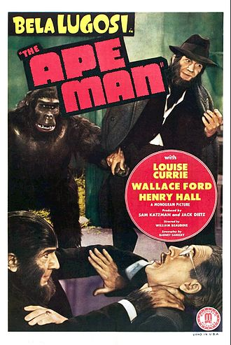 The Ape Man - Image: The Ape Man Poster