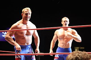 The British Invasion (professional wrestling) tag team in professional wrestling