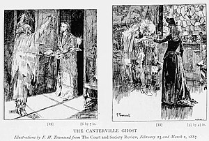 The Canterville Ghost illustration