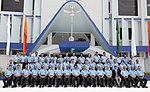 The Chief of the Air Staff, Air Chief Marshal B.S. Dhanoa in a group photograph with the Commanders of Western Air Command, during the WAC Station Commanders' Conference 2018, at HQ Western Air Command, in New Delhi.JPG
