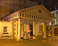The Convent Guard House, Gibraltar at night.jpg