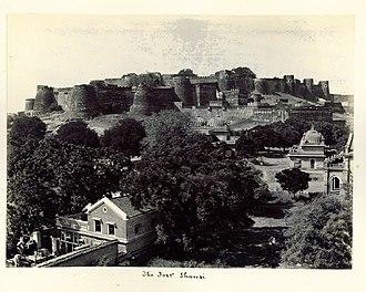Jhansi - Jhansi Fort, 1900