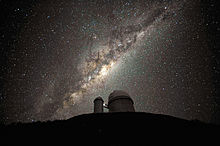 The Galactic Centre and Bulge above the ESO 3.6-metre telescope.jpg