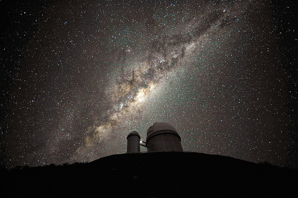 The Galactic Centre and Bulge above the ESO 3.6-metre telescope