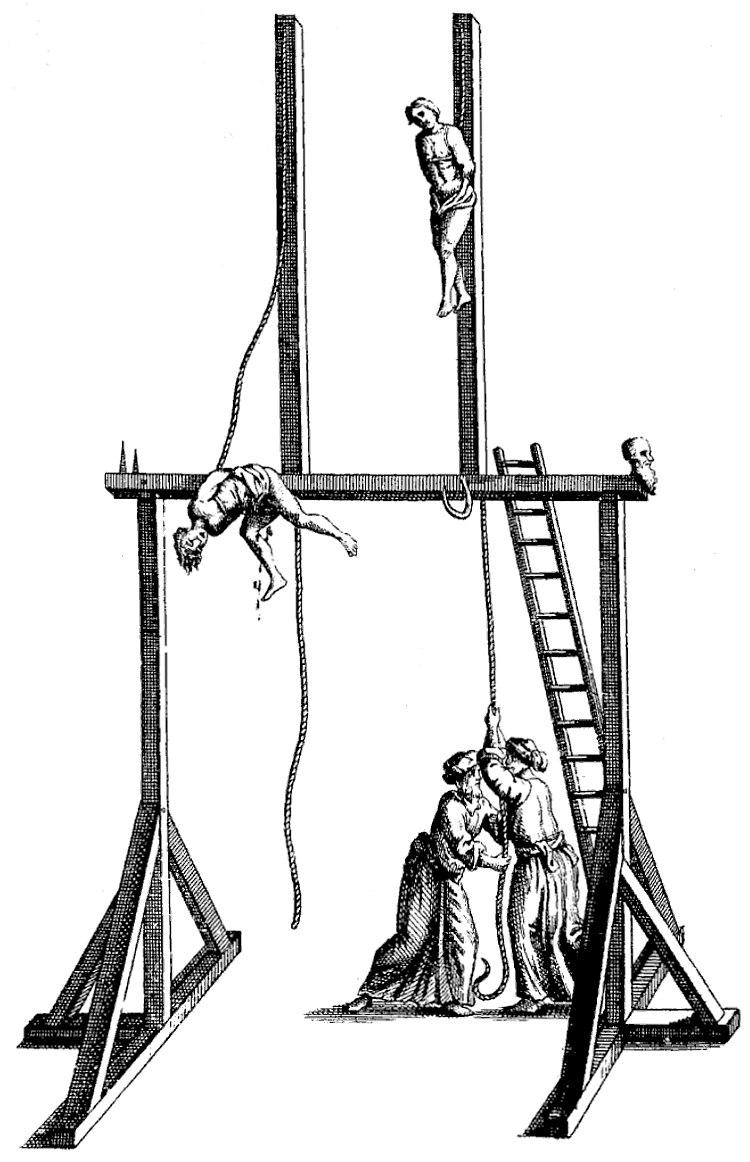 The Gaunche, Turkish capital punishment