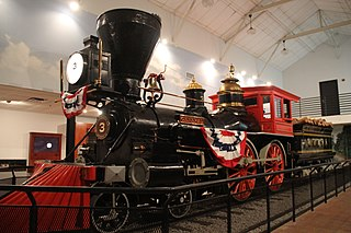<i>The General</i> (locomotive) Preserved American 4-4-0 locomotive