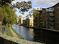 The Hertford Union Canal from Three Colt Bridge - geograph.org.uk - 1326185.jpg