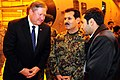 The Honorable Michael Donley, Secretary of the Air Force, talks with Maj. Gen. Mohammad Dawran (4330638928).jpg