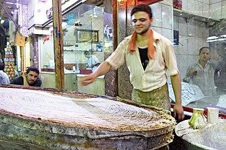 Kanafeh - Traditional kunafa maker in Cairo