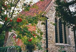 Church in London Borough of Sutton, England