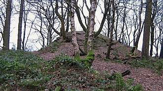 Cumbernauld - The motte of the Comyns' Castle