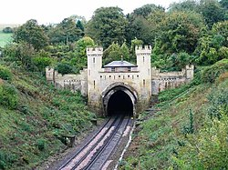 The North entrance of the Clayton Tunnel - geograph.org.uk - 1577506