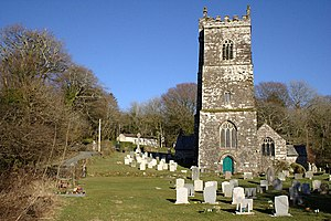 Camelford - The parish church of St Julitta, Lanteglos
