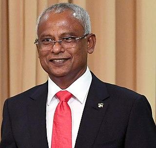 Maldivian politician, President of Maldives