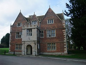 1600s in architecture - Image: The Red Hall, Bourne geograph.org.uk 1575134