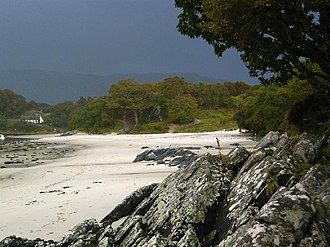 Morar - The sands at Morar