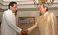 The Union Minister for Commerce & Industry, Shri Kamal Nath meeting with the Prime Minister of the Kingdom of Thailand, Mr. General Surayud Chulanont, in New Delhi on June 26, 2007.jpg