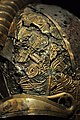 The Vikings Begin 70 - detail, warrior helmet, Valsgärde boat grave 5, 7th century.jpg