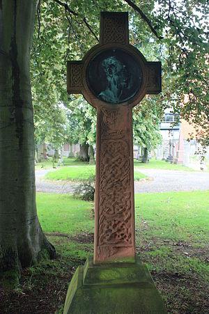 Thomas Stuart Burnett - The grave of Thomas Stuart Burnett, Dean Cemetery, Edinburgh